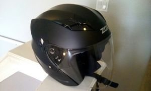 BRAND NEW ZOX MOTORCYCLE HELMET WITH SOLAR VISOR SYSTEM, NEVER USED for Sale in Orlando, FL