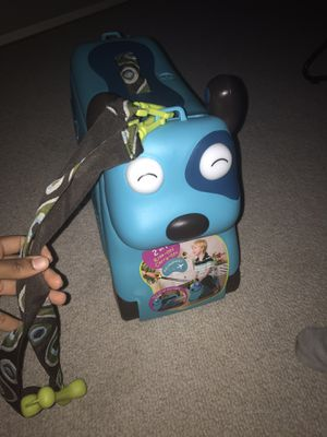 Kids Ride-On Suitcase + Carry-On Luggage for Sale in Herndon, VA