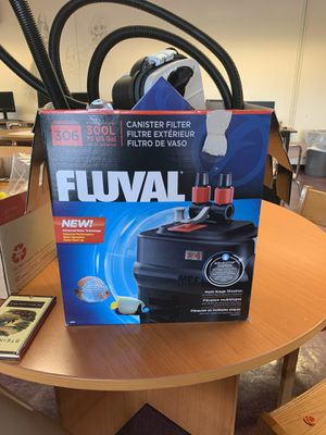 FLUVAL 300L (70 gallon) canister filter for Sale in Brooklyn, NY