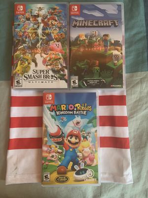 3 Nintendo Switch games for Sale in Bloomingdale, IL