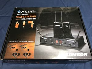 Samson - Dual Channel Presentation Wireless System for Sale in Chino Hills, CA