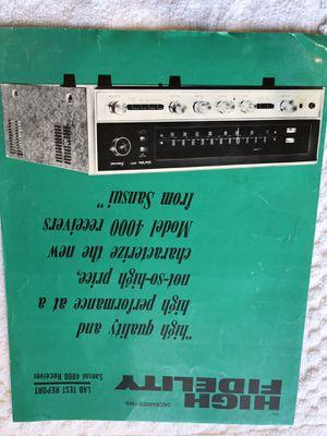 Sansui Stereo Receiver for Sale in Pleasanton, CA