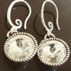 Used, Lovely Crystal Dangle Earrings for Sale for sale  New York, NY