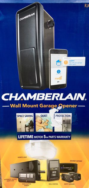 BRAND NEW Chamberlain Smart Wall-Mount Garage Door Opener SEALED IN BOX for Sale in Chapel Hill, NC