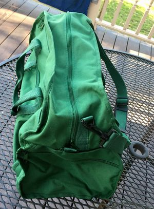 Large Green Duffle Bag for Sale in Independence, OH