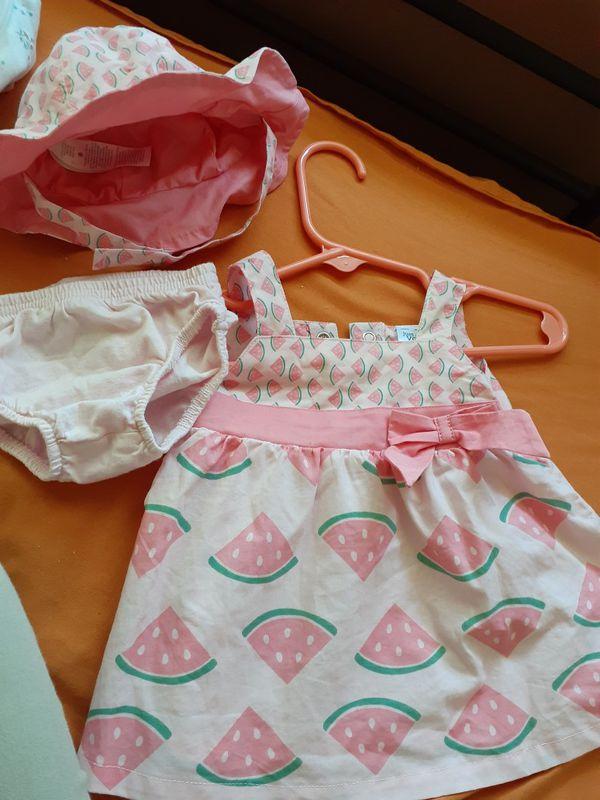 Newborn summer dress