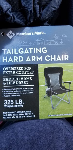TAILGATING HARD ARM CHAIR for Sale in Santa Ana, CA
