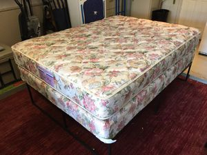 Thick Queen Sized Mattress & Box Spring Set - Excellent Condition for Sale in Austin, TX