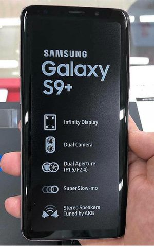 Samsung Galaxy S9+ Plus , Unlocked for All Company Carrier, Excellent Condition like New for Sale in Springfield, VA