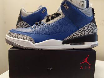 "Jordan 3s ""Varsity Royal Cement"" for Sale in Duluth,  GA"