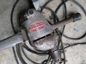 Vintage Van Dorn 1/2 hp drill for Sale in Romulus, MI