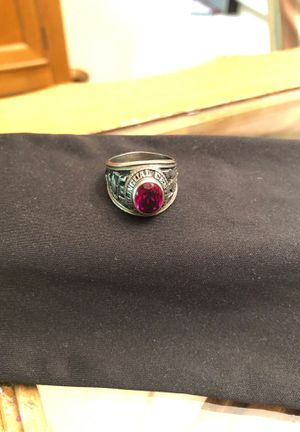 High School men's ring size 8 silver tone. No markings on inside for Sale in Hialeah, FL