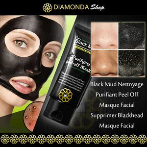 Black Mud Nettoyage Purifiant Peel off Masque Facial for Sale in NJ, US
