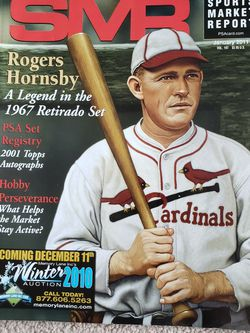 SMR Magazine January 2011 Vol. 197 Rogers Hornsby A Legend In The 1967 Retirado Set for Sale in Chambersburg,  PA