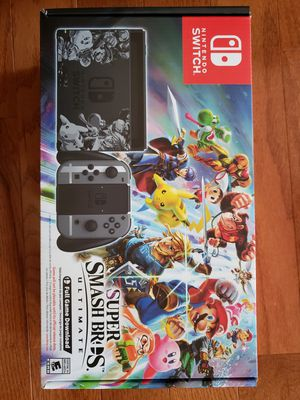 Nintendo Switch Super Smash Bros Ultimate Edition Bundle for Sale in Evesham Township, NJ