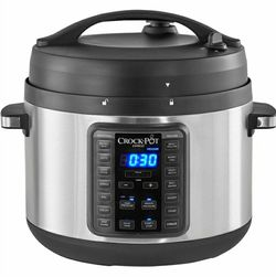 Crock-Pot - 10qt Digital Multi Cooker - Stainless Steel for Sale in Gaithersburg,  MD