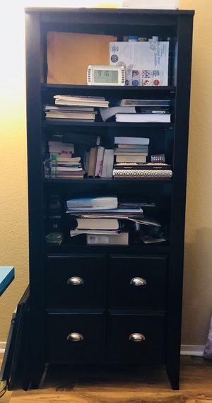 Nice bookshelves and long set with nice couch, excellent condition for Sale in Elk Grove, CA