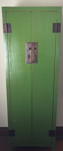 Green armoire Chinese antique replica for Sale in Portland,  OR