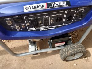 Yamaha 7200 Generator Industrial Series for Sale in Odessa, TX
