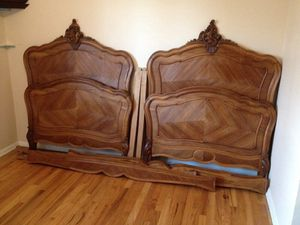 Antique Rococo Twin Beds for Sale in Denver, CO