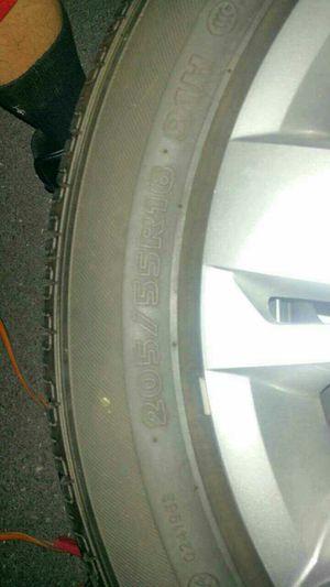 16 tires on steelies for Sale in Harrisonburg, VA