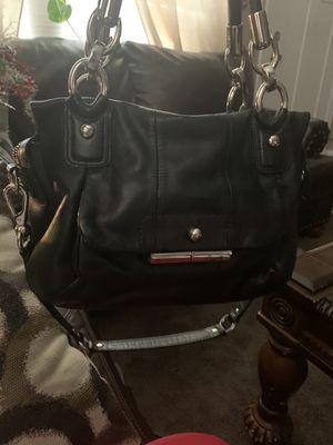 2 pc leather coach bag for Sale in Grove City, OH
