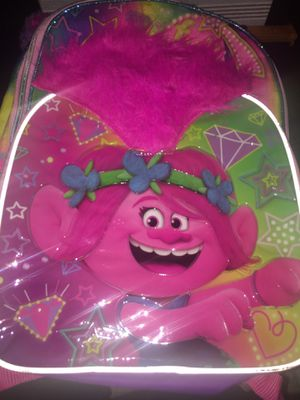 Trolls backpack used for Sale in Los Angeles, CA