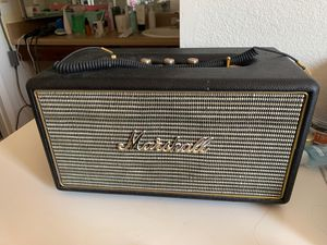 Marshall Bluetooth speaker for Sale in Guadalupe, AZ
