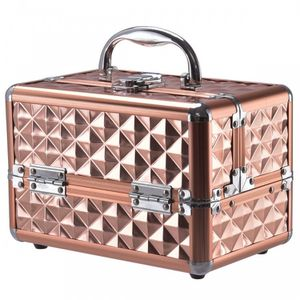 Beauty Cosmetic Makeup Case with Mirror & Extendable Trays for Sale in Walnut, CA