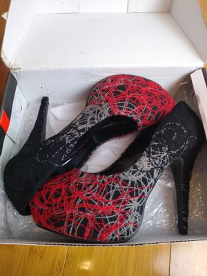 Pick up or ship heels black red size 10 for Sale in Queens, NY