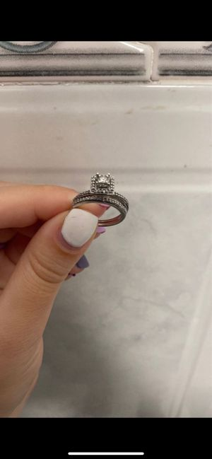 Wedding Ring Set 1/4 Ct for Sale in Miami, FL