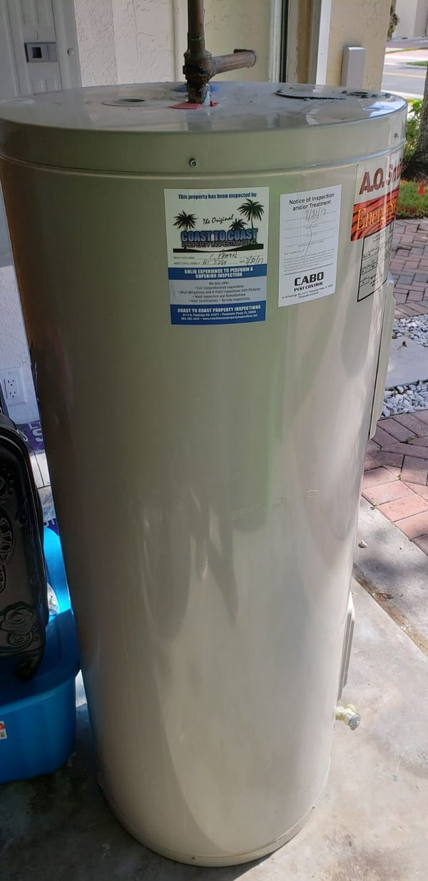 Water Tank Heater Perfect Conditions