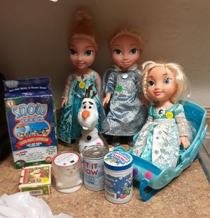 "Disney""Frozen""Dolls for Sale in Tucson, AZ"