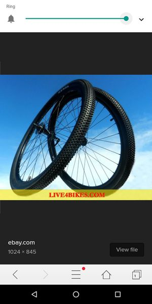 29 inch bicycle wheelset for Sale in Modesto, CA