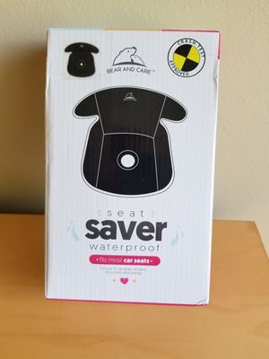 CAR SEAT SAVER - BRAND NEW IN THE BOX! for Sale in Riverwoods, IL