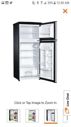 4.5 cu ft double door mini fridge stainless steel look for Sale in Philadelphia, PA
