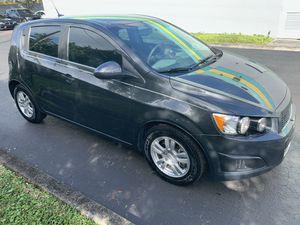 2014 Chevy Sonic ltz remote start clean tittle for Sale in Davie, FL