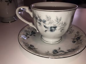 120 PC Baroque Bleu By Daniele Fine China Japan In excellent condition for $140 for Sale in Lakewood, CO