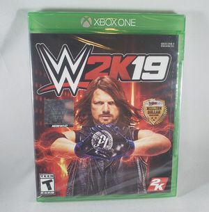 WWE 2k19 - Xbox One (Brand New) for Sale in Dublin, OH