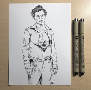 Harry Styles Drawing for Sale in Arlington, VA
