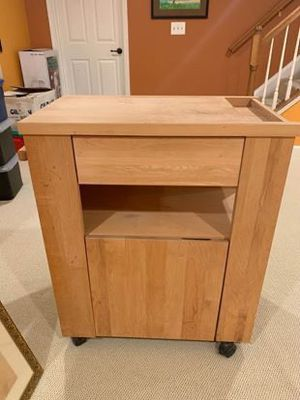 Wooden Butcher Block Island for Sale in Sterling, VA