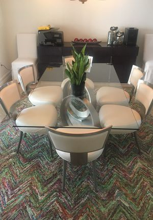 Modern Dining Set (8 pieces) for Sale in Miami, FL