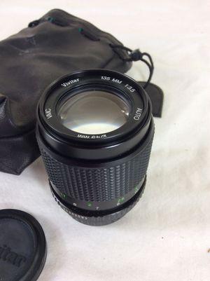 VIVITAR VMC 135mm F 3.5 lens to PENTAX K (PK) mount camera for Sale in Severn, MD