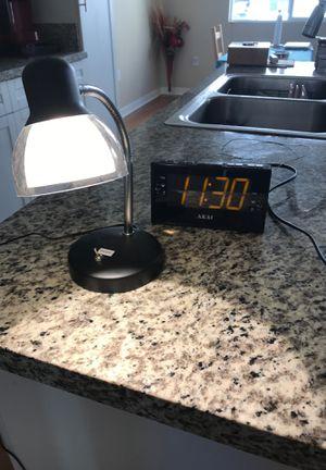 Desk lamp and alarm clock for Sale in La Mesa, CA