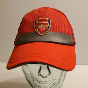 PUMA Arsenal Soccer Hat Cap Red. Size adjustable, one size fits most. Unisex. Pre-owned, perfect shape for Sale in Saratoga, CA