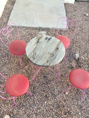 Girl table, Pink, tea time for Sale in Payson, AZ