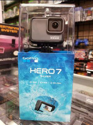 Go Pro Hero 7 Silver Brand New for Sale in Pasadena, TX