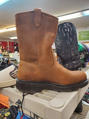 Brand new size 11 and a 1/2 Wolverine work boots retail close to $200 brand new never worn for $100 for the pair for Sale in Bensalem, PA