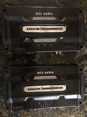 1200 watt Jack Hammer Amp(s) for Sale in Baxter, MN