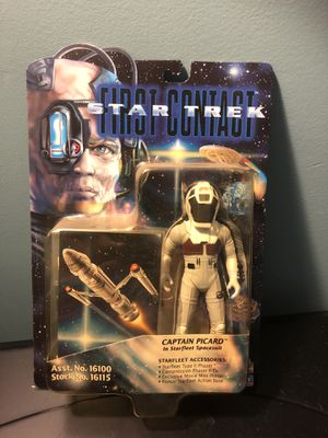 Star Trek First Contact Captain Picard action figure for Sale in Clinton, MD